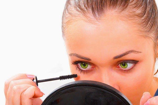 aplicar mascara de pestañas