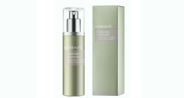 m2beaute nano spray cu peptide