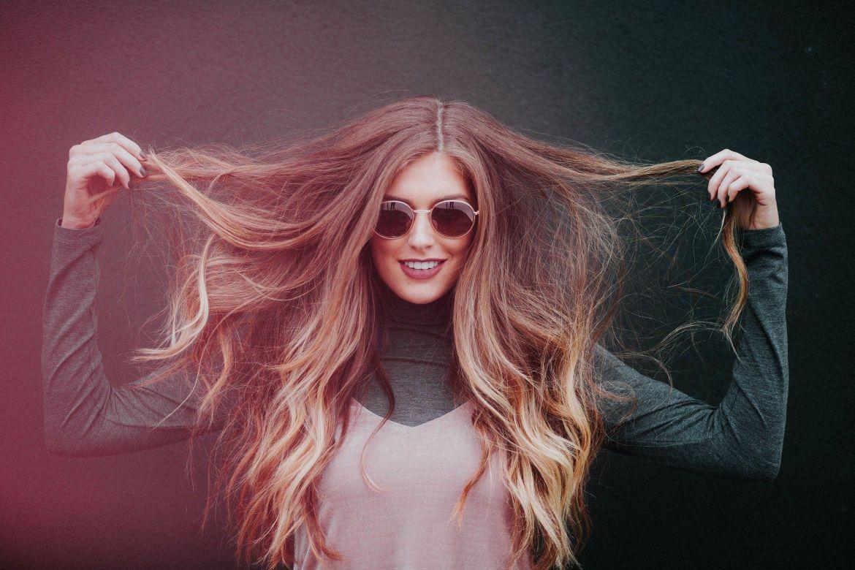 Raya del pelo