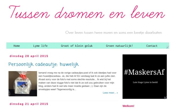 Blogger lay-out