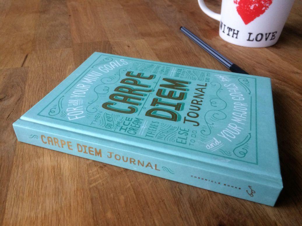 Cadeautje voor Nieuwjaar: Carpe Diem Journal