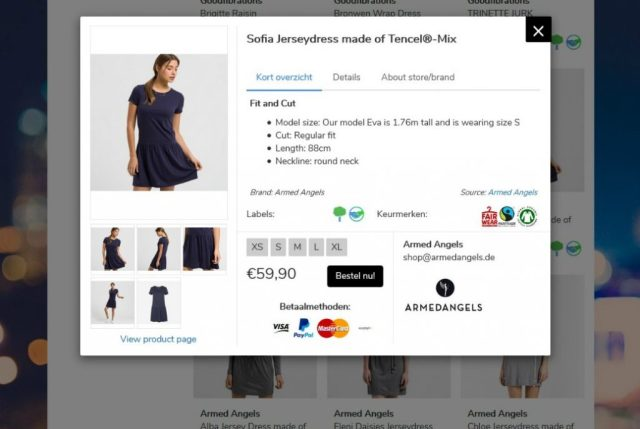 makkelijk eerlijke kleding kopen met project cece