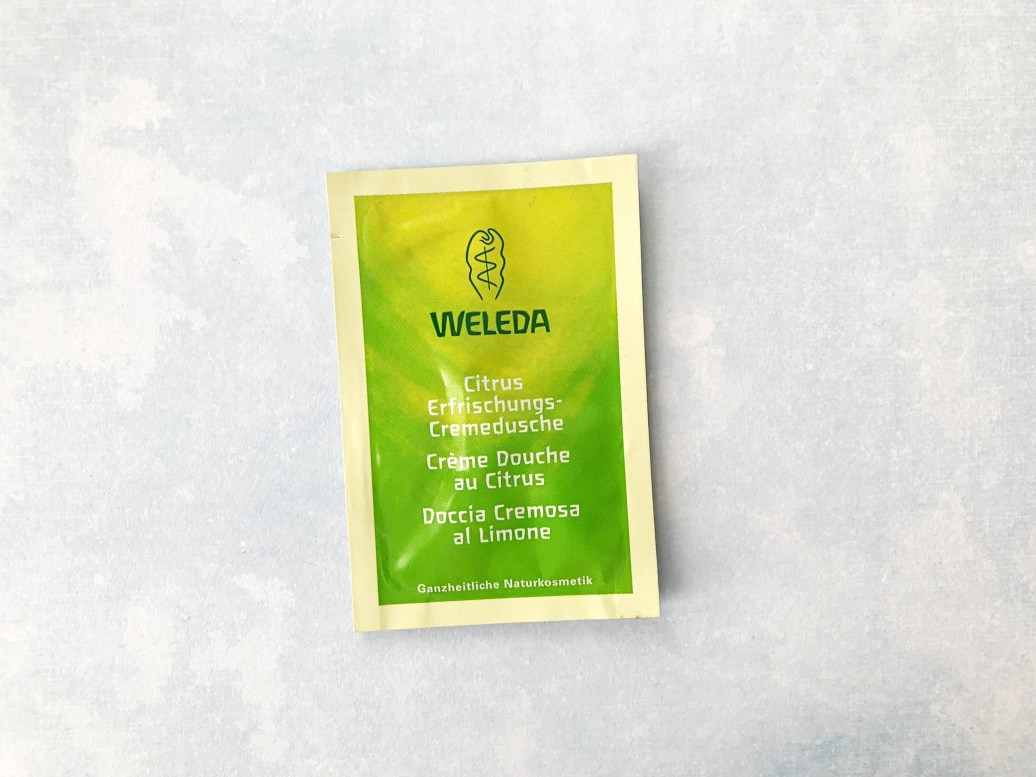 natuurlijke douchegel weleda verfrissingsdouche citrus review