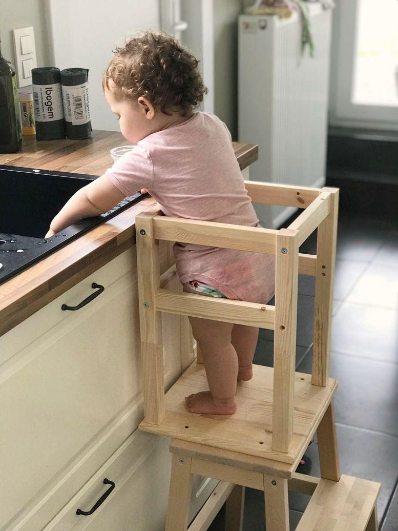 Hoe maak je zelf een leertoren? - Montessori Ikea Hack