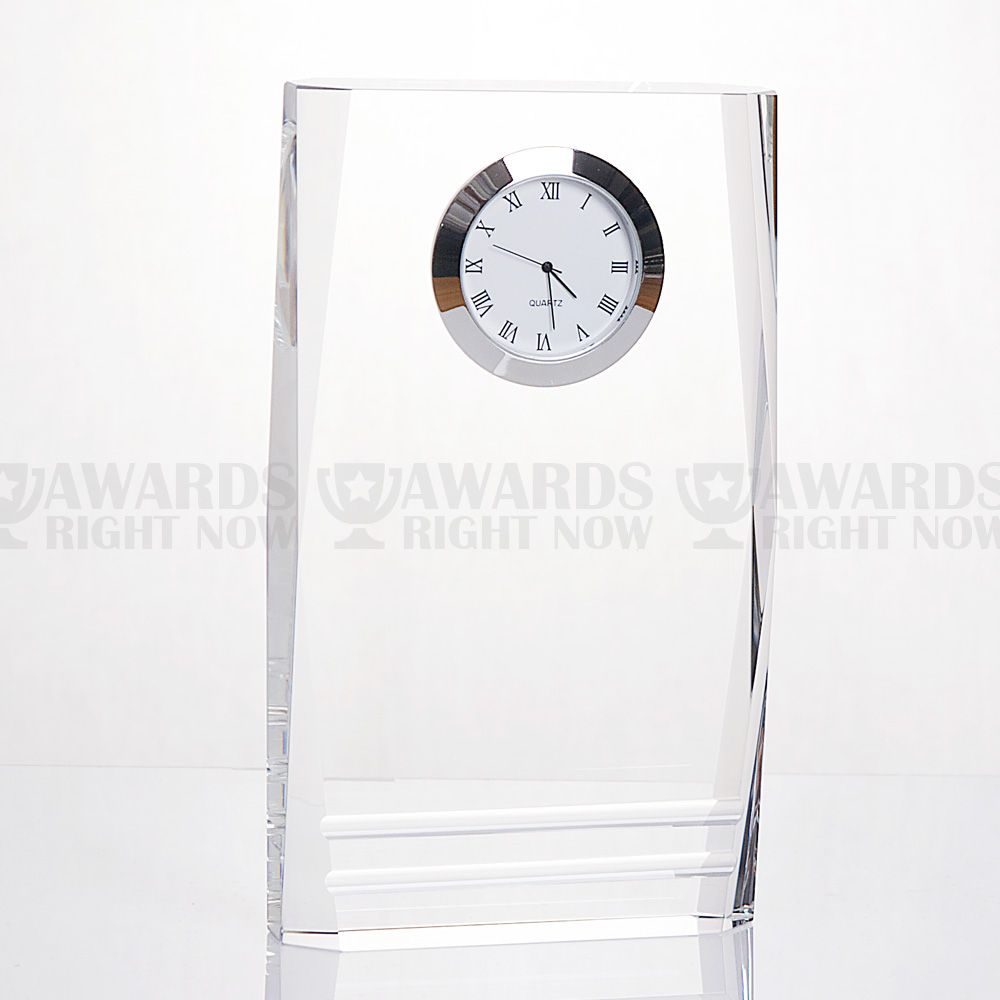 Beveled Pillar Clock