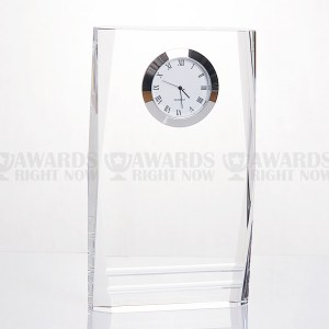 Beveled Pillar Clock