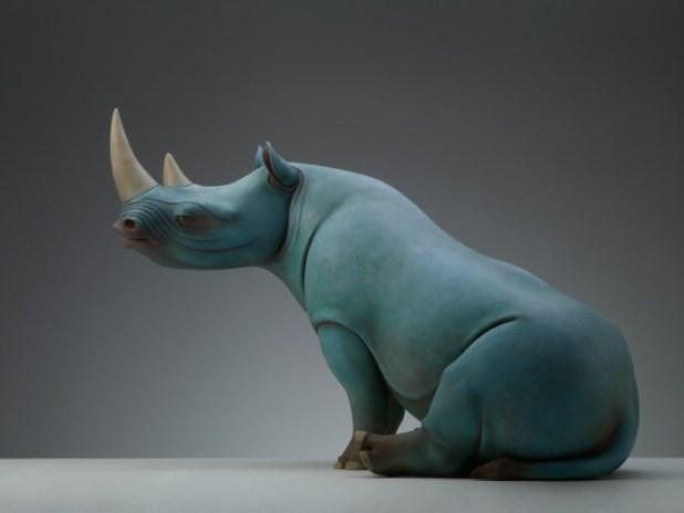 Σουρεαλιστικά Γλυπτά Ζώων από τον Wang Ruilin