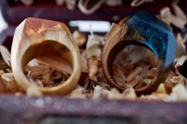 Ο Κόσμος Μέσα Σε Δαχτυλίδια από τη Secret Wood