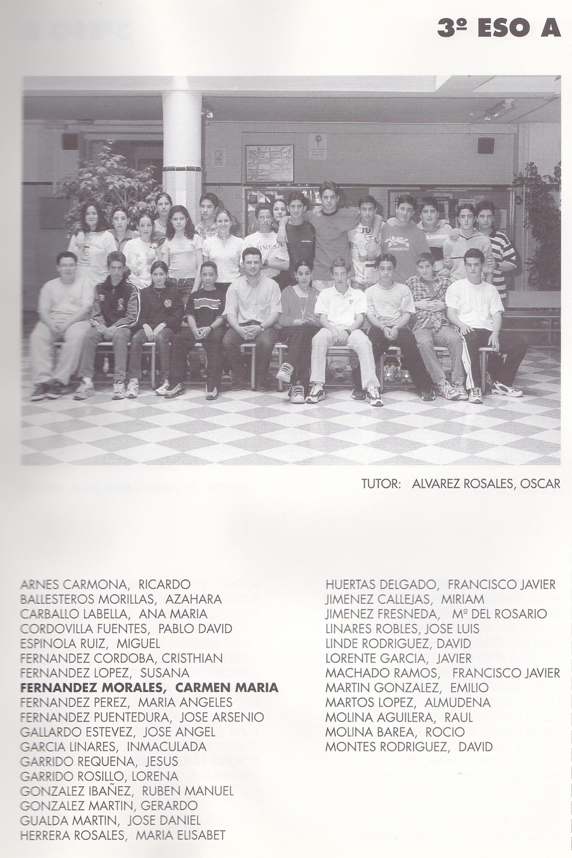3ESO A (curso 1998-1999)