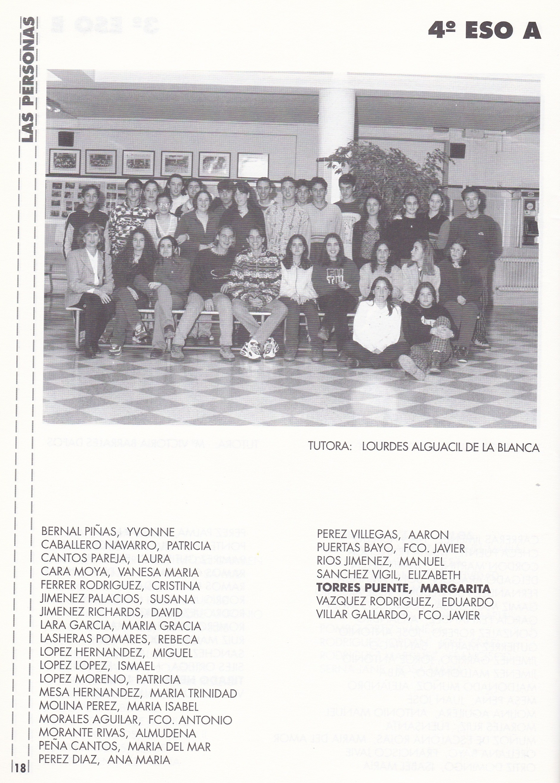 4ESO A (curso 1997-1998)