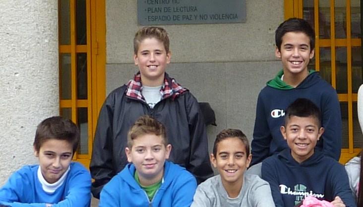 Fco Javier Antúnez, Alejandro Yeste, Javier Molina,Ángel Fernández, Julio David Correa y Juan Franco.