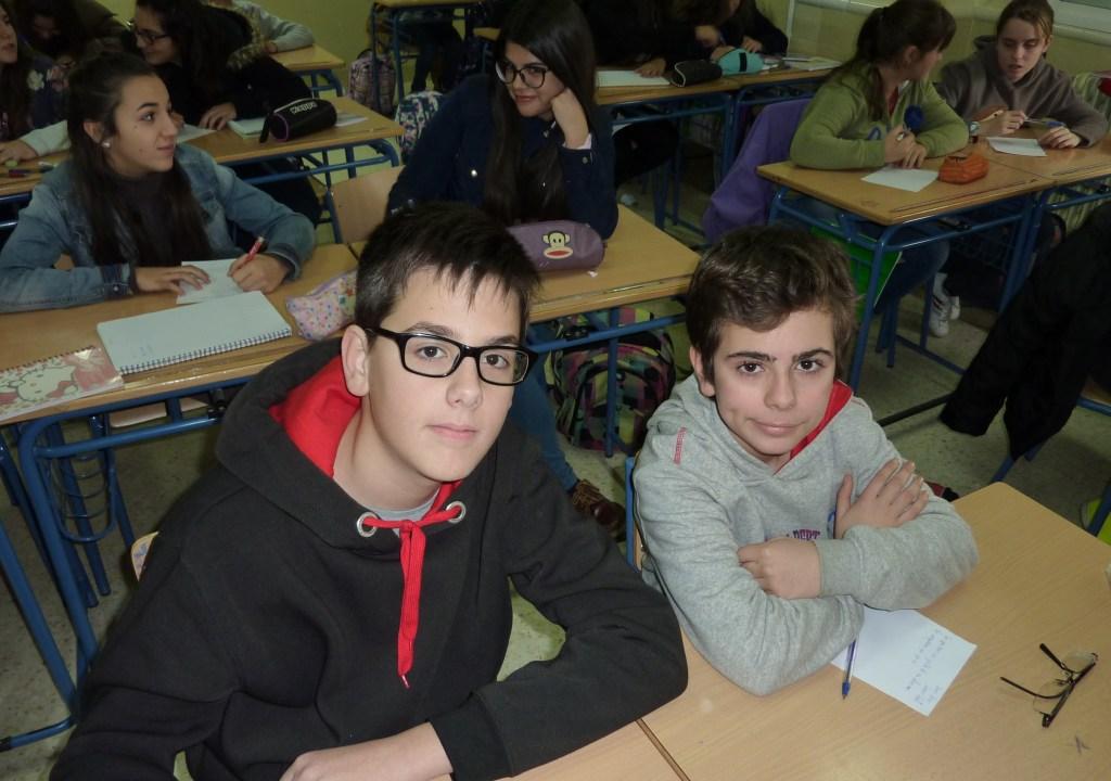 Javier Medina Martínez y Juan Pedro linares López.