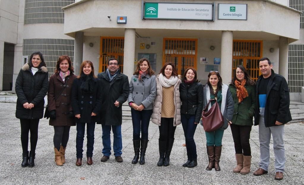 "Junta  Directiva AMPA ""San Isidro"" del IES Alba Longa"