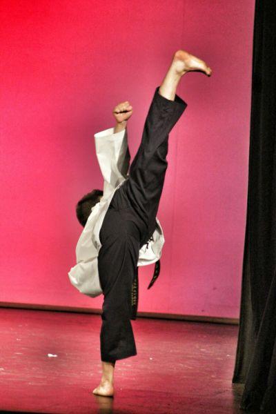 Actuación de Manuel Estévez Carmona, nuestro campeón de Taekwondo.