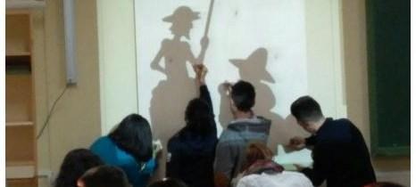 """El """"aula taller"""" de Tecnología (III): Conmemoración del 400º Aniversario de la muerte de Miguel de Cervantes"""