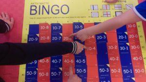 Bingo med subtraksjon