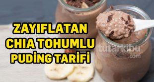 Zayıflatan Chia Tohumlu Puding Tarifi