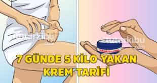 5 Kilo Yağ Yakan Krem Tarifi