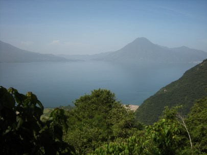 Lake Atitlan, surrounded by volcanoes, is one of the most beautiful sights in Guatemala. Photos by Barbara Borst
