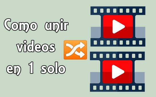 juntar videos