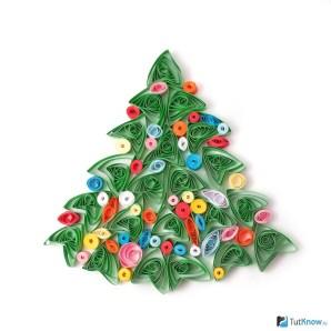 Картинки по запросу квиллинг зима елки