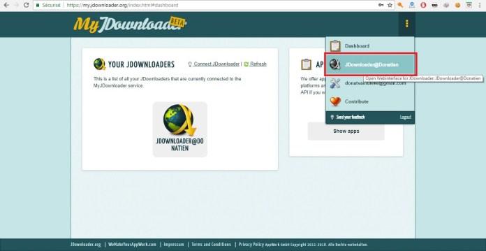 Accedez à votre Web Interface !