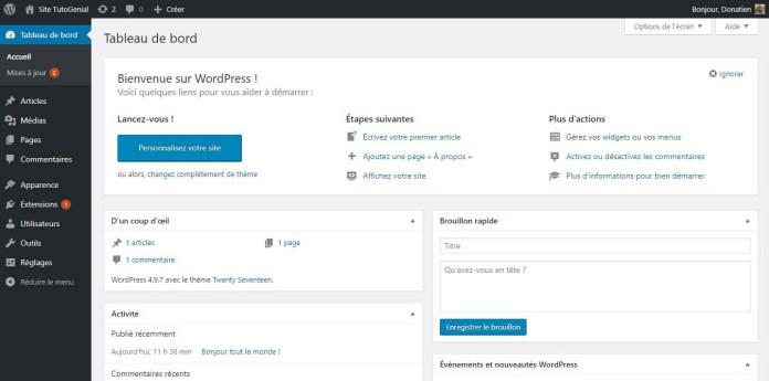 Savourez de votre beau site WordPress !