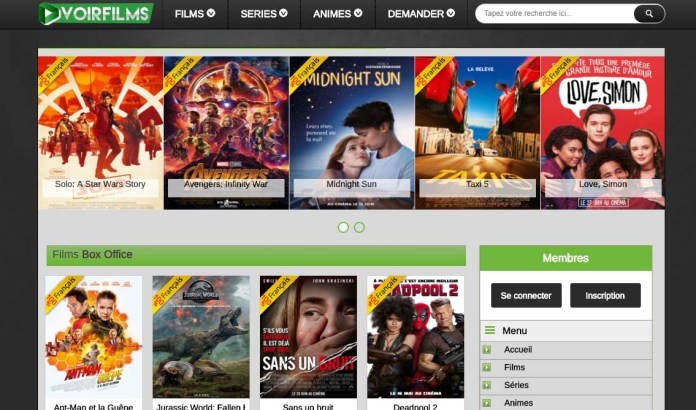 Le Site de Streaming VoirFilms