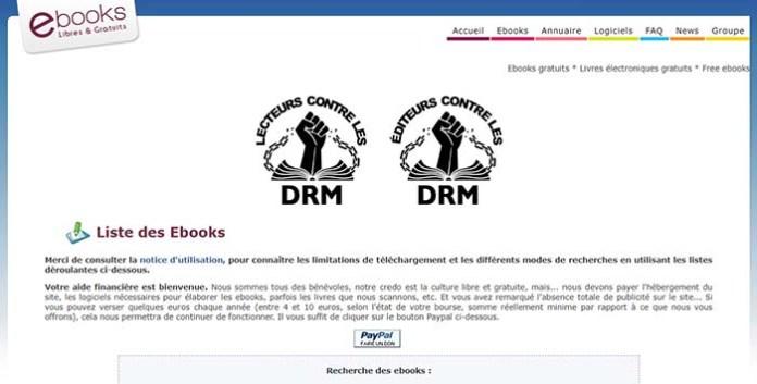 Le site EbooksGratuits !