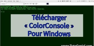 Telecharger ColorConsole Gratuit pour Windows !