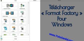 Telecharger Format Factory Gratuit pour Windows