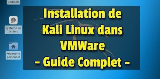 Installer Kali Linux sur VMware Workstation Pro