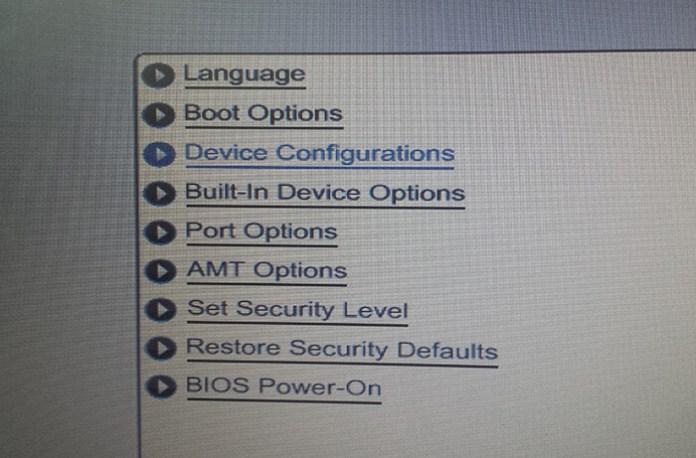 Choisissez Device Configurations !