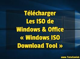 Télécharger les ISO de Windows et Office !