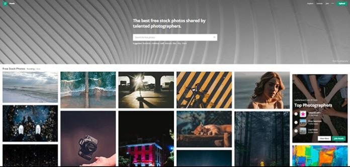 Le site Pexels !