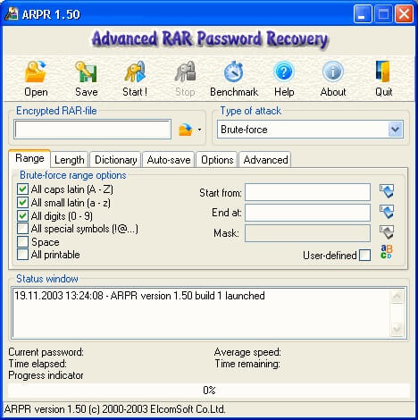 Advanced RAR Recover