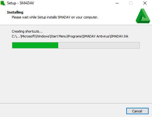 Setup Smadav Gratuit pour Windows - Installation