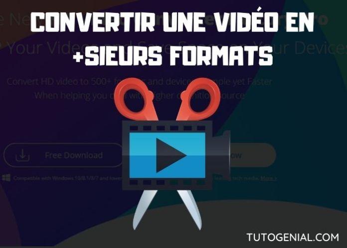 Comment convertir une vidéo en différents formats facilement