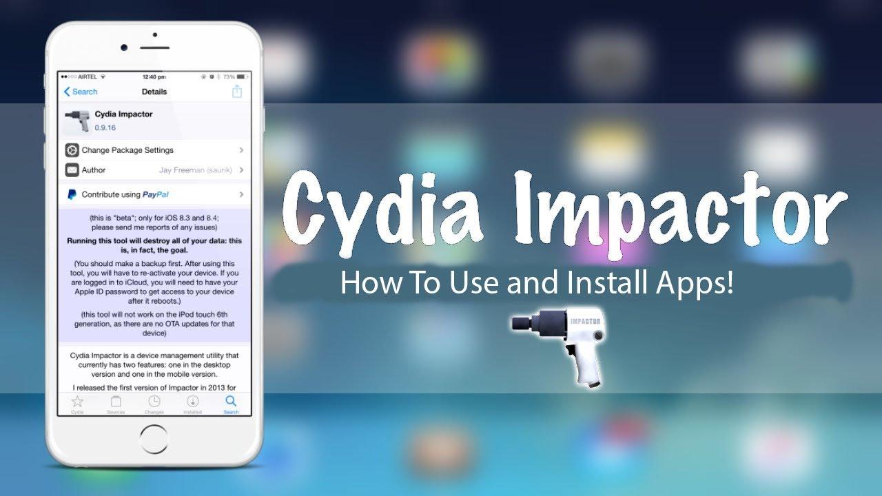 Cydia Impactor, téléchargement et utilisation