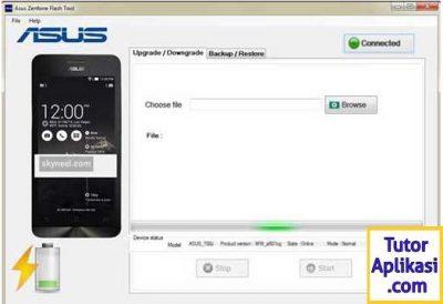 Cara Flash ASUS Zenfone 4 Selfie Pro (ZD552KL) Sukses 100% dan Download Firmware