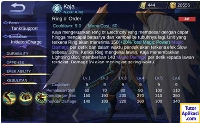 Guide Kaja Mobile Legends