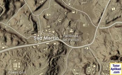 Lokasi Pendaratan Terbaik di Map Miramar PUBG