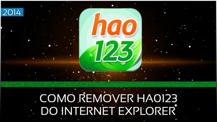 Como Remover Hao123 do Internet Explorer