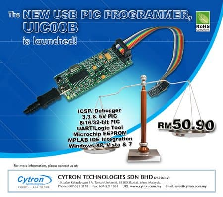 Enhanced USB ICSP Programmer for PIC Developer