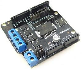 Pinguino + 2 Amp Motor Driver Shield