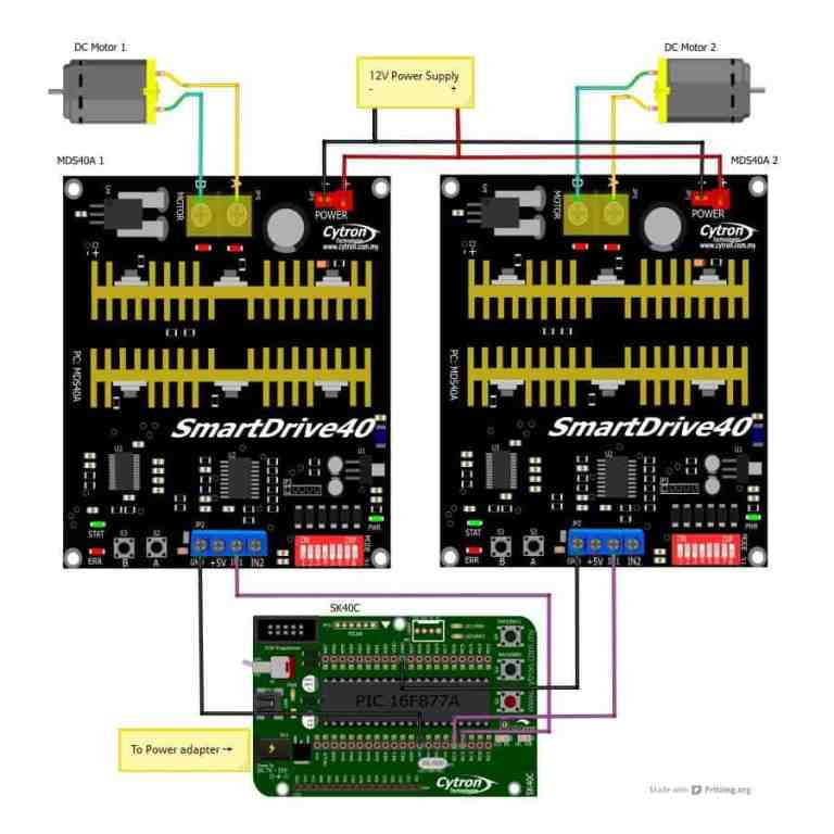 SK40C - Controlling MDS40A