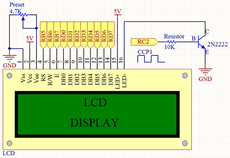 LCD: Interfacing with PIC Microcontrollers (Part 4) | Tutorials of