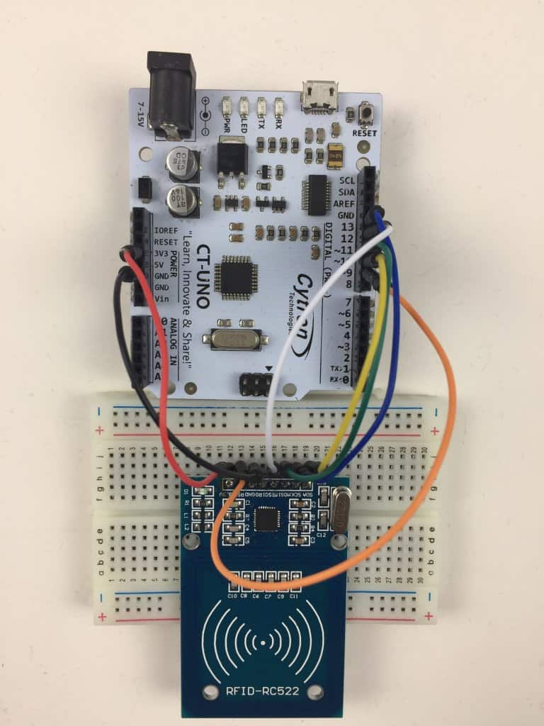 Getting Started with Mifare RC522 RFID Kit (RFID-RC522)