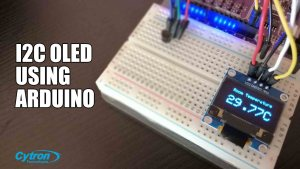 How to Display on I2C OLED with Arduino