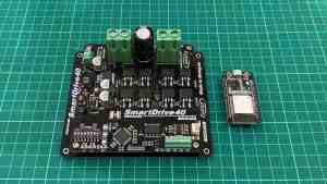 Controlling SmartDrive40 Using 3.3V Microcontroller (Serial Simplified Mode)